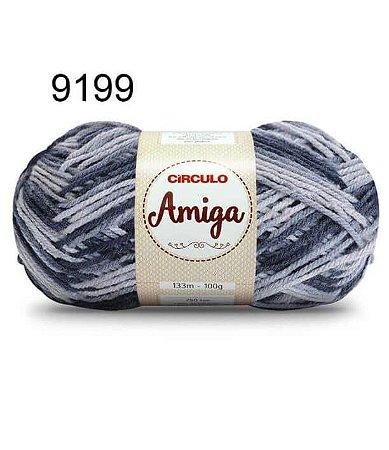 Lã Amiga Cor 9199 Nublado 100 Gramas