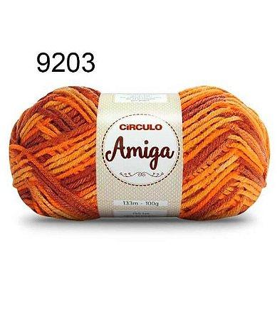 Lã Amiga Cor 9203 Ferrugem 100 Gramas