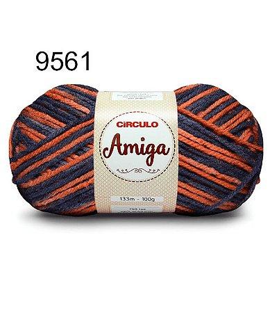 Lã Amiga Cor 9561 Topázio 100 Gramas