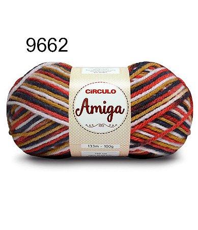 Lã Amiga Cor 9662 Valencia 100 Gramas
