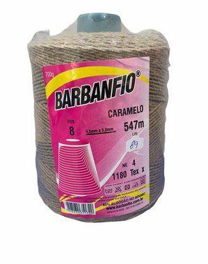Barbante Barbanfio 8 fios Caramelo 700 Gramas 547 Metros