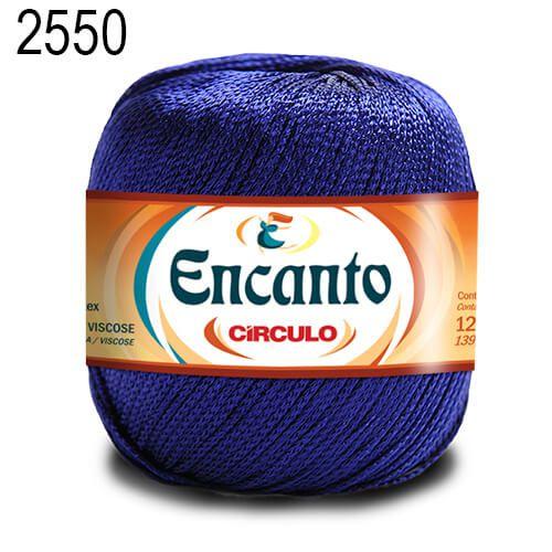 Linha Encanto Cor 2550 Azul Bic 128 Metros