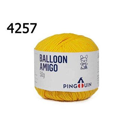Linha Ballon Amigo Cor 4257 Sun Flower 50 Gramas 150 Metros