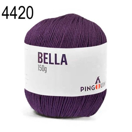 Linha Bella Cor 4420 Roleta  150 Gramas 405 Metros