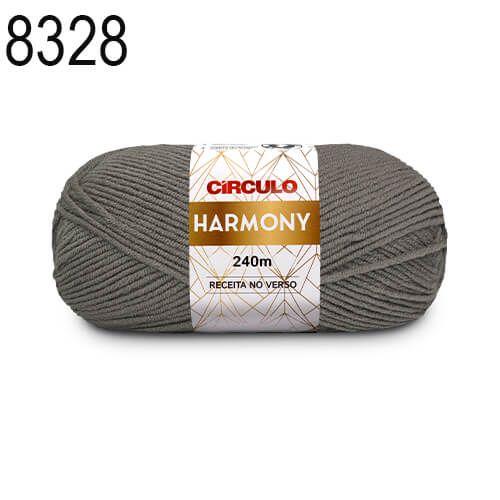 Lã Harmony Cor 8328 Cosmos  100 Gramas 240 Metros