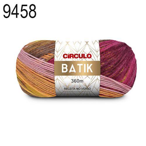 Lã Batik Cor 9458 Tronco 100 Gramas 360 Metros