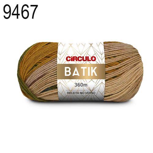 Lã Batik Cor 9467 Galáxia 100 Gramas 360 Metros