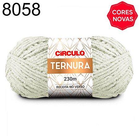 Lã Ternura Cor 8058 Natural 100 Gramas 230 Metros