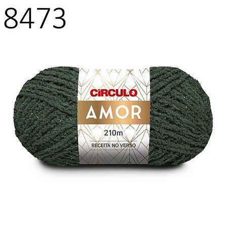 Lã Amor Cor 8473 Alumínio 100 Gramas 210 Metros