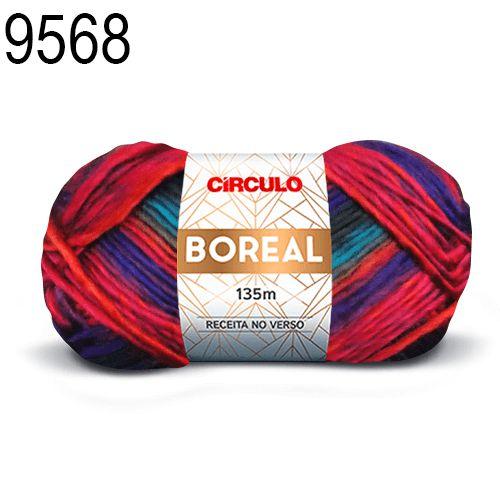 Lã Boreal Cor 9568 Crisântemo 100 Gramas 135 Metros