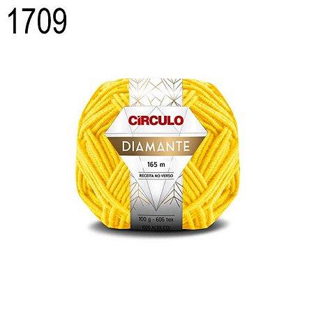 Lã Diamante Cor 1709 Gouda 100 Gramas 165 Metros