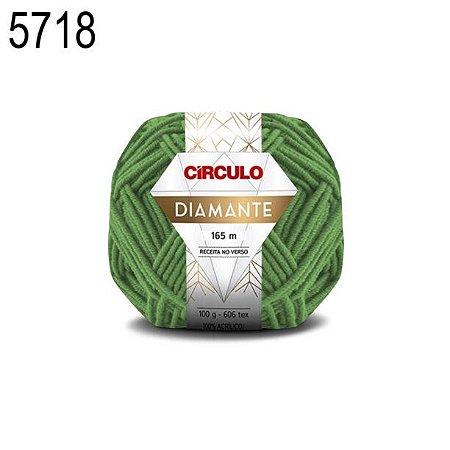 Lã Diamante Cor 5718 Samanbaia 100 Gramas 165 Metros