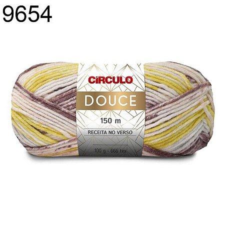 Lã Douce Cor 9654 Duna 100 Gramas 150 Metros