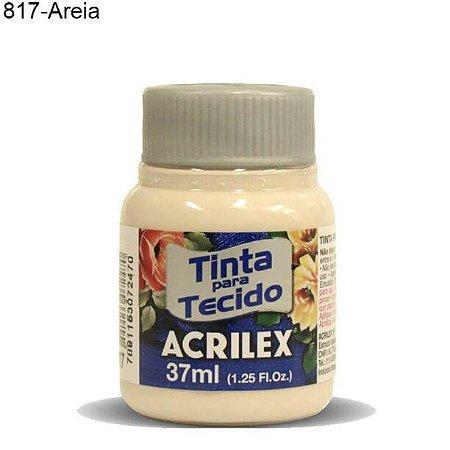 Tinta para Tecido 37ml Cor 817 Areia  Acrilex