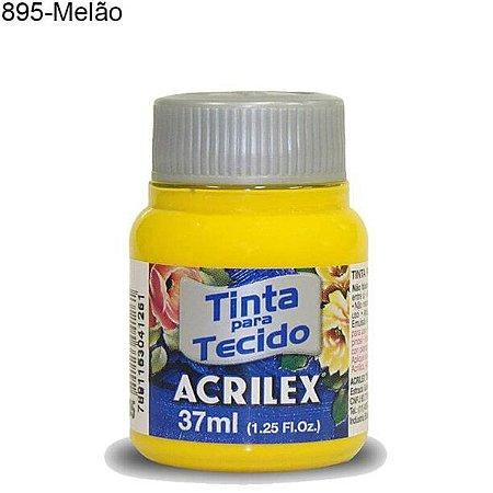 Tinta para Tecido 37ml Cor 895 Melão  Acrilex