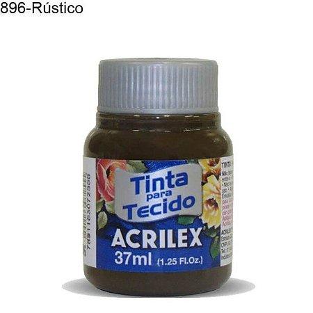 Tinta para Tecido 37ml Cor 896 Rustico  Acrilex