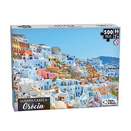 Quebra Cabeça Grécia 500 Peças 10761 Pais & Filhos