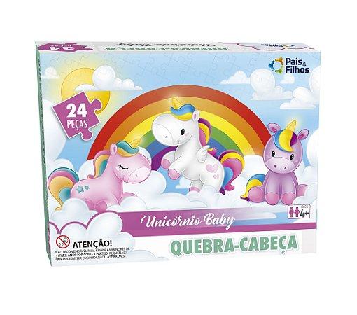 Quebra Cabeça Unicórnio Baby 24 Peças 2157 Pais & Filhos