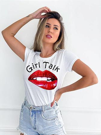 T-SHIRT GIRL TALK