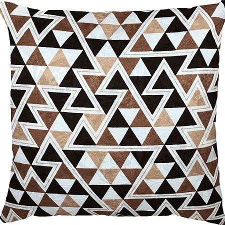 Capa Belize Triângulos Marrons