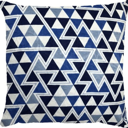 Capa Belize Triângulos Azuis