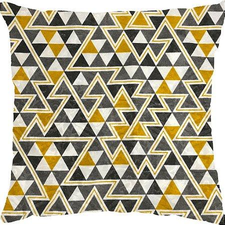 Capa Belize Triângulos Amarelos