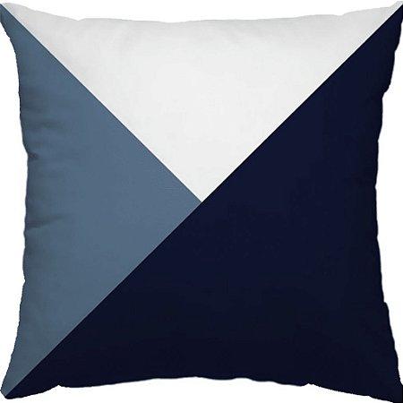 Capa Almofada Candy Envelope Azul