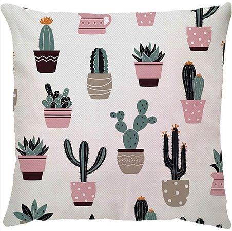 Capa Almofada Cactus
