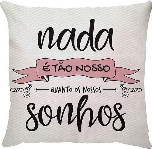 Capa Neo Nada Sonhos Rosa/Preta