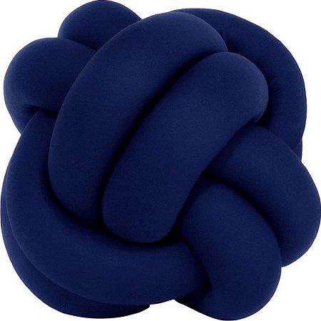 Almofada Nó Azul Marinho