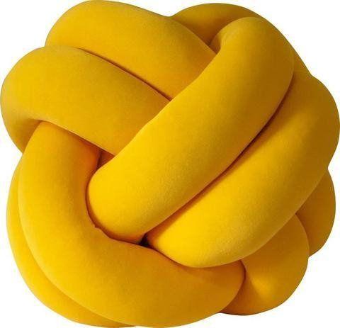 Almofada Nó Amarelo