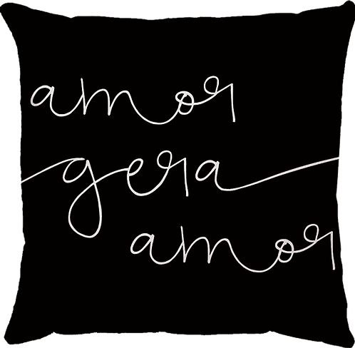 Capa Almofada Amor Gera Amor
