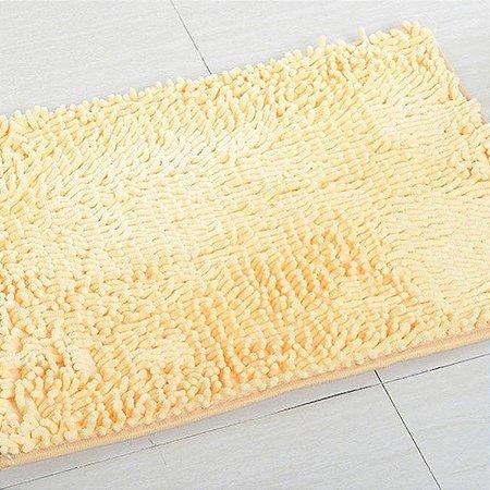 Tapete Microfibra Pequeno 40 x 60 - Bege