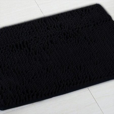 Tapete Microfibra Pequeno 40 x 60 - Preto
