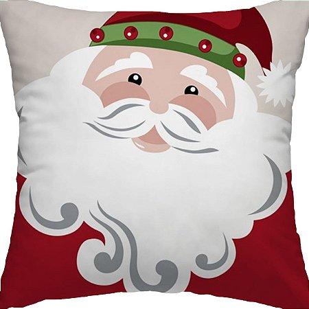 Capa Almofada Papai Noel
