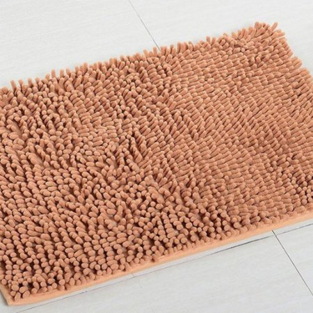 Kit 2 Tapetes Microfibra Pequeno 40 x 60 - Caramelo