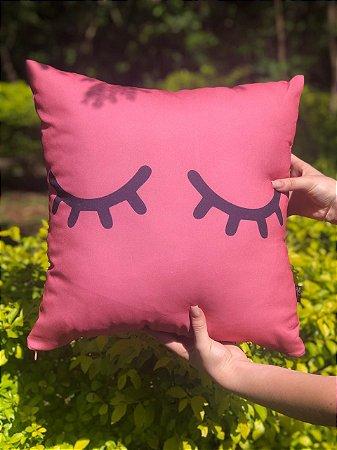 Capa Digital Cilios Rosa Promoção