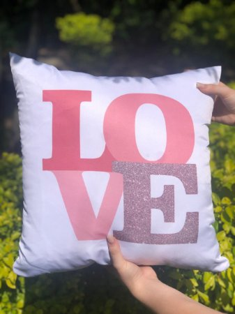 Capa Digital Love Glitter Promoção