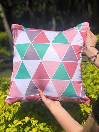 Capa Digital Delta Verde e Rosa Promoção