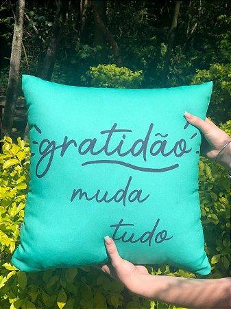 Capa Digital Gratidão Muda Tudo  Verde Promoção