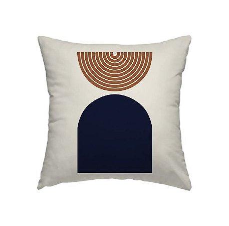 Capa de Almofada Coleção Zara Meio Circulo
