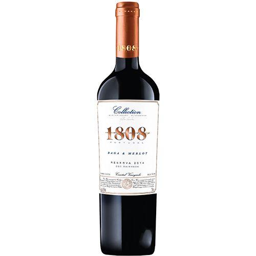 1808 COLLECTION RESERVA BAGA MERLOT 750ML