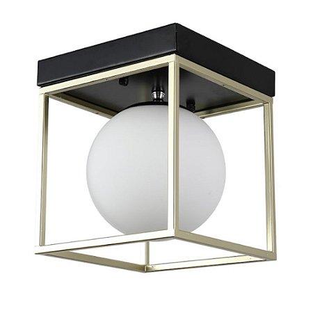 Plafon Cubo Com Globo