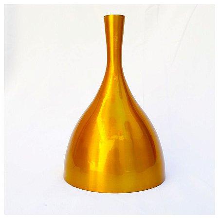 Pendente Unique Em Aluminio Dourado
