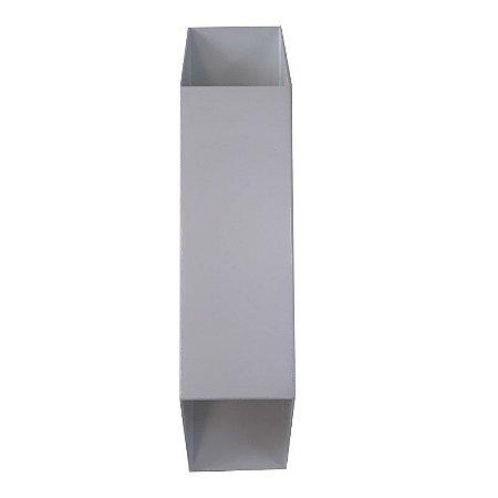 Arandela Vertical De Alumínio Branca