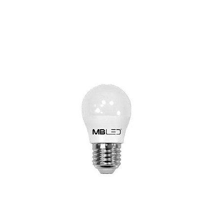 LAMPADA DE LED G45 BOLINHA 5W 6000K