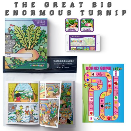 Reader Pack -  Level 1 - The Great Big Enormous Turnip