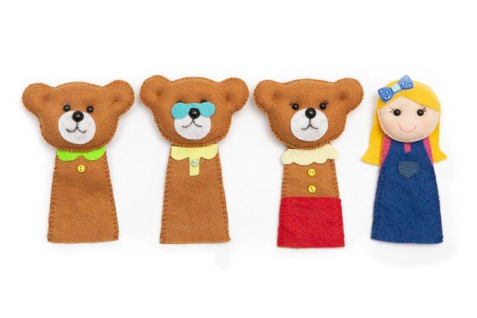 Goldilocks and the Three Bears - Finger Puppet - Kit