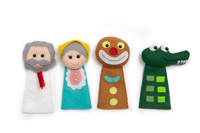 The Gingerbread Man - Finger Puppet - Kit