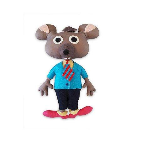 Town Mouse Doll - Boneco
